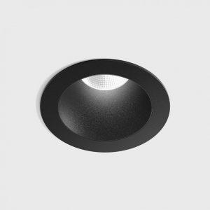 Світильник стельовий вбудований NANO R чорний