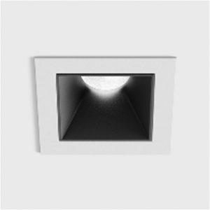 Світильник стельовий вбудований NANO S білий/чорний