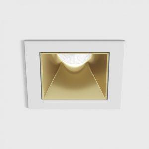 Світильник стельовий вбудований NANO S білий/золотий