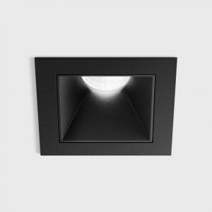 Світильник стельовий вбудований NANO S чорний