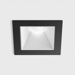 Світильник стельовий вбудований NANO S чорний/білий