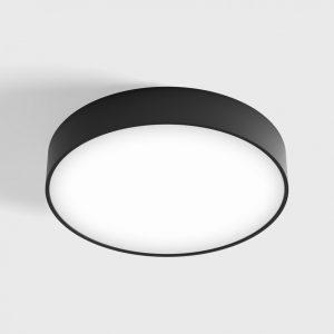 Світильник стельовий накладний DISK M чорний