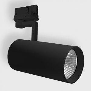 Світильник прожекторного типу на шину EYE 3F 1 чорний