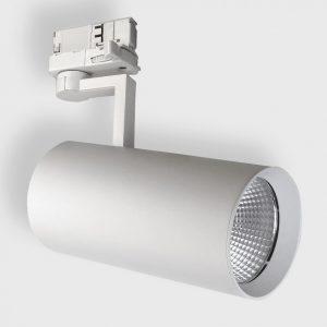 Світильник прожекторного типу на шину EYE 3F 1 білий