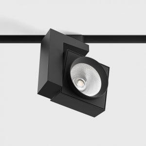 Світильник прожекторного типу на шину PRO 3F 90° чорний