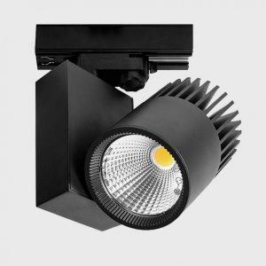 Світильник прожекторного типу на шину PRO 3F 15° 45° 55° чорний