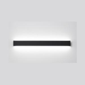 Світильник настінний накладний STRAIGHT 18W чорний